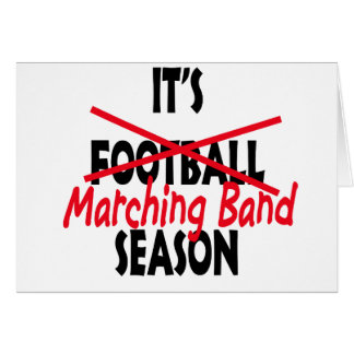 Marching Band Season / Red Card