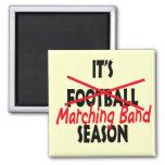 Marching Band Season / Red Fridge Magnets