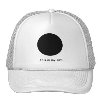 """Marching Band """"This is My Dot."""" Trucker Hat"""