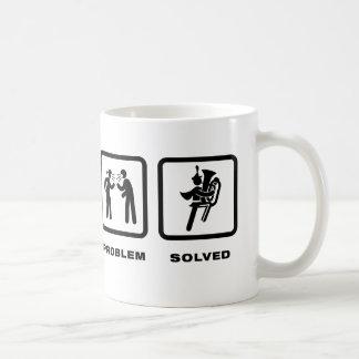 Marching Band - Tuba Player Coffee Mug