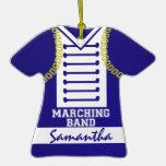 Marching Band Uniform Photo Christmas Ornaments