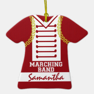 Marching Band Uniform Photo Christmas Tree Ornaments