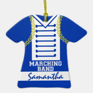 Marching Band Uniform Photo Christmas Ornaments