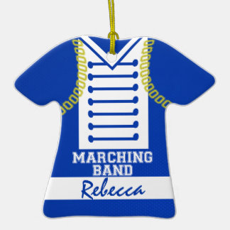 Marching Band Uniform Photo Ornaments