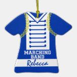 Marching Band Uniform Photo Ornaments