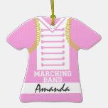 Marching Band Uniform Photo Pink Ornament