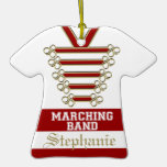 Marching Band Uniform with Photo Ornaments