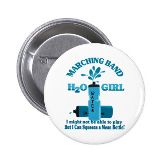 Marching Band Water Girl Pins