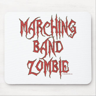 Marching Band Zombie Mouse Mat