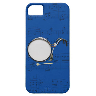 Marching Bass Drum & music phone case. Pick color iPhone SE/5/5s Case