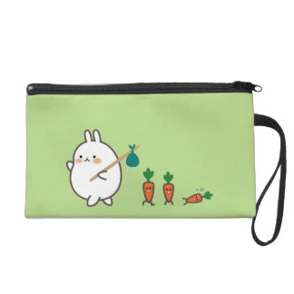 Marching Bunny Wristlet Purse