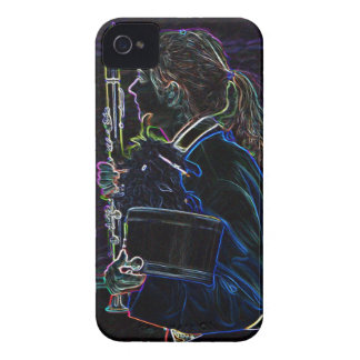 Marching Clarinetist Blackberry Bold Case-Mate Cas iPhone 4 Cover