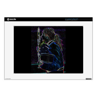 Marching Clarinetist Electronics Skin Skin For Laptop
