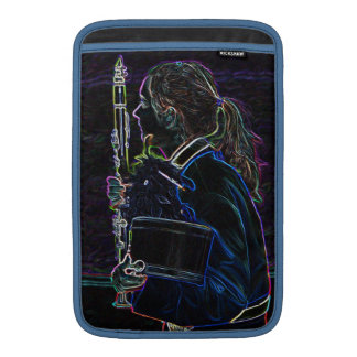 Marching Clarinetist MacBook Air Sleeve