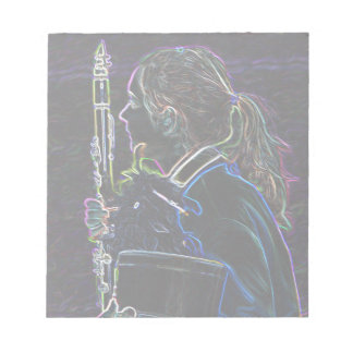Marching Clarinetist Notepad