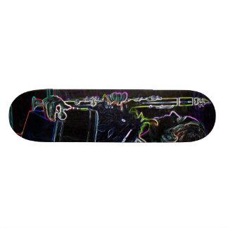 Marching Clarinetist Skateboard