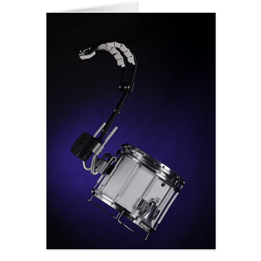 Marching Drum Greeting Card or Note Card