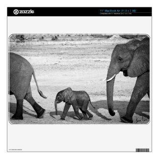 Marching Elephants Macbook Air Skin