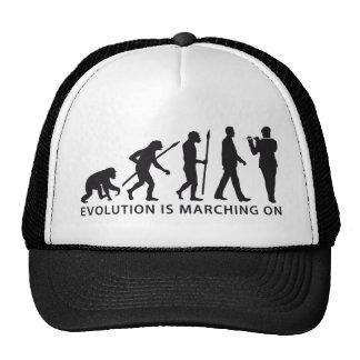 marching evolution of usted ligó flute timpani gorro de camionero