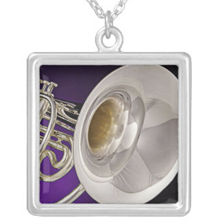 Marching French Horn Necklace