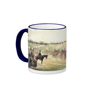 Marching in the Rain after Gettysburg Mug