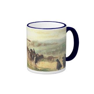 Marching in the Rain after Gettysburg Mug