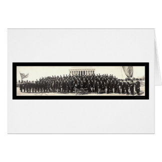 Marching Lincoln Club Photo 1929 Card