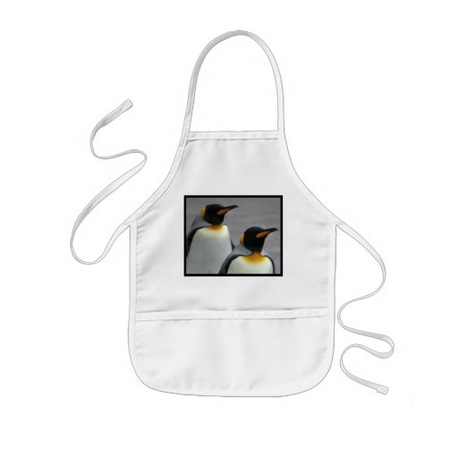 Marching Penguins Small Apron