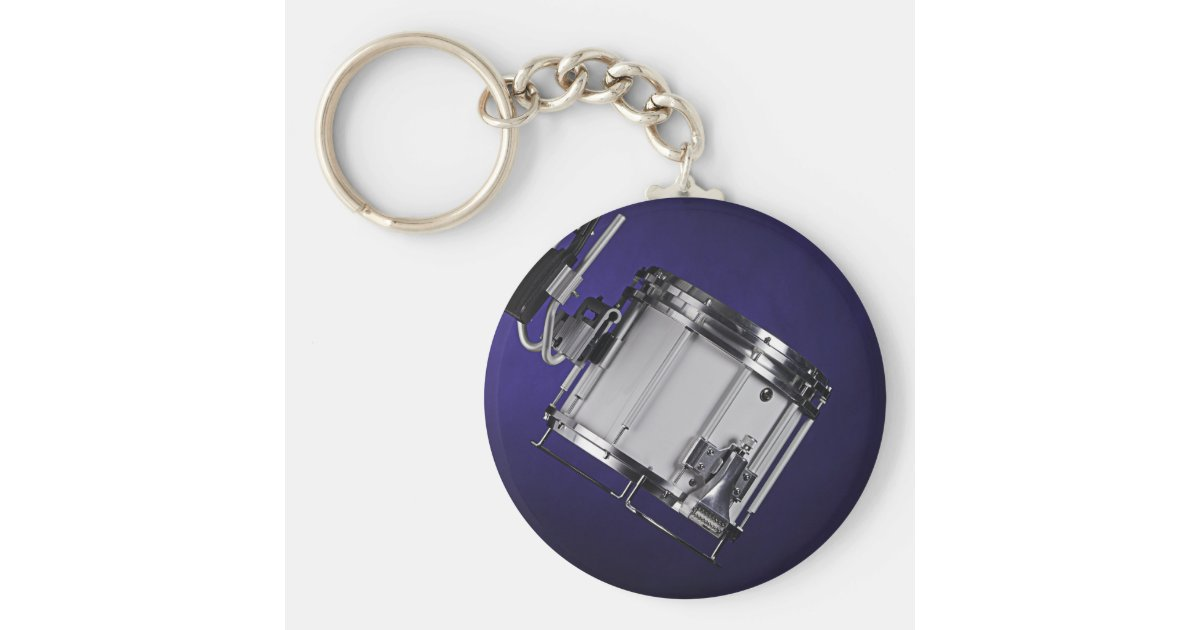 marching snare drum keychain. Black Bedroom Furniture Sets. Home Design Ideas