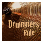 Marching Snare Drum or Drummer Poster