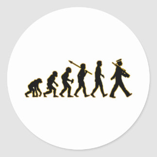 Marching Sticker