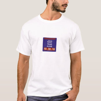 marchtokeepfearalive2white T-Shirt