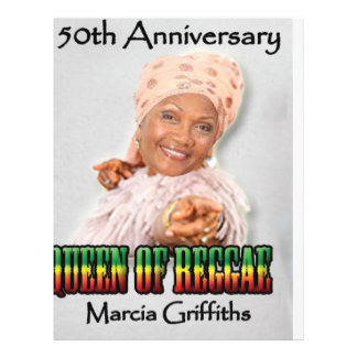 Marcia Griffiths the Reggae Queen-50th Anniversary Flyers