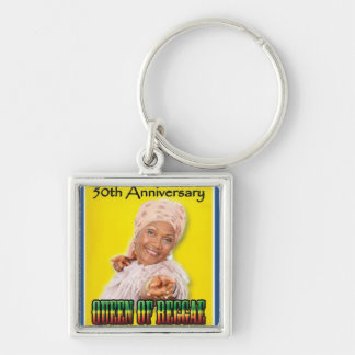 Marcia Griffiths the Reggae Queen-50th Anniversary Keychain