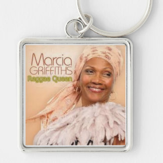 Marcia Griffiths the Reggae Queen-50th Anniversary Keychain