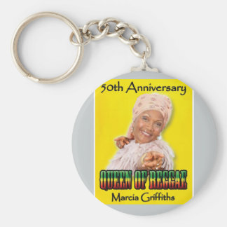 Marcia Griffiths the Reggae Queen-50th Anniversary Key Chains