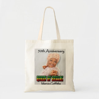 Marcia Griffiths the Reggae Queen-50th Anniversary Tote Bag