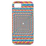 marco abstracto de la cuerda iPhone 5 Case-Mate carcasas