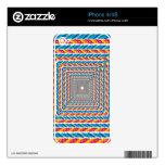 marco abstracto de la cuerda skins para eliPhone 4