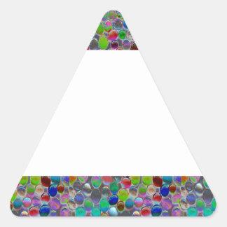 MARCO ANCHO de la joya:  DIY añaden personalizar Calcomanía Trianguloada