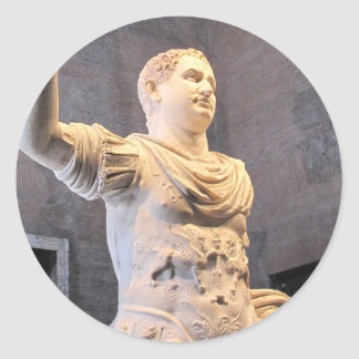Marco Aurelius - emperador romano Pegatina Redonda