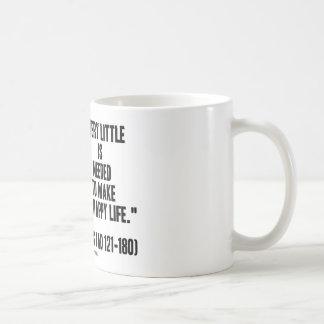 Marco Aurelius muy poco necesario para hacer vida Tazas De Café