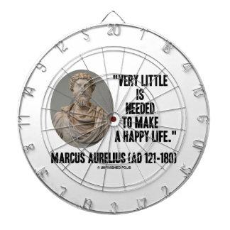Marco Aurelius poco es necesario hace vida feliz