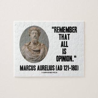 Marco Aurelius recuerda que toda es cita de la Rompecabezas Con Fotos