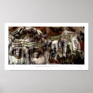 Marco Aurelius/segunda etapa/serie ecuestre Posters