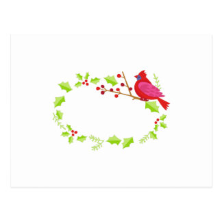 Marco cardinal del acebo tarjetas postales