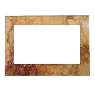 Marco clásico de la foto de la mirada del mármol d marcos magneticos