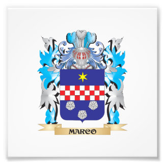 Marco Coat of Arms - Family Crest Photo Print
