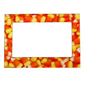 Marco colorido de las pastillas de caramelo marcos magneticos de fotos
