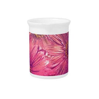 marco completo de los flores jarra